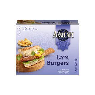 Amilah Lamsvleesburger 960 gram
