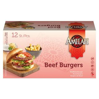 Amilah Rundvlees Burger 1020 gram