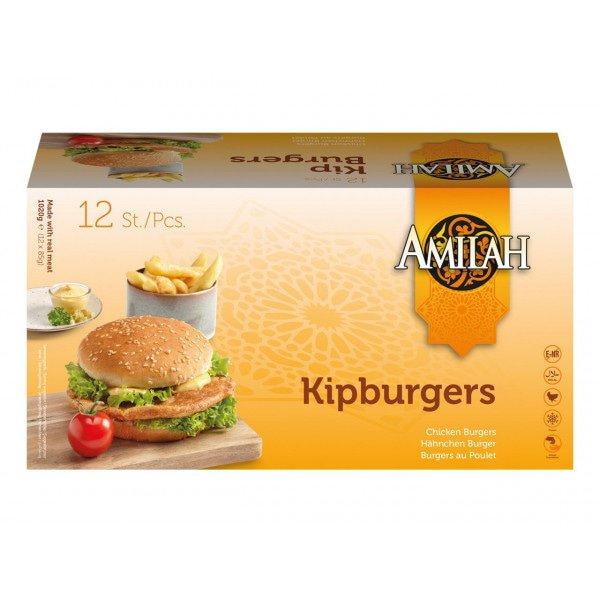 Amilah Kipburgers 12 x 85 g