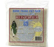 Vietnamees Rijstpapier Vierkant 19 cm 500 gram