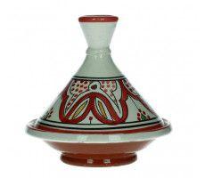 Marokkaanse tajine 13cm rood 220 GR