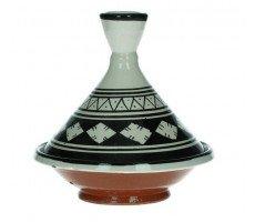 Marokkaanse tajine 13cm zwart-wit 3 220 GR