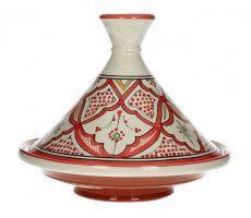 Marokkaanse tajine 27cm rood 820 GR