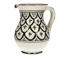 Marokkaanse kan 26  zwart-wit 1 840 GR