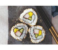 California Sushi-Rolls Recept