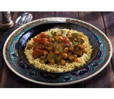 Couscous met 7 soorten groenten