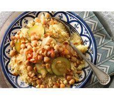 Sardijnse couscous met courgette & pijnboompitjes