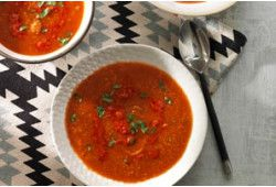 Tomaten Couscous Soep